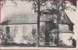 Ertvelde 1908 Kapel Van OLV Van Stoepe ZELDZAAM Edit. Meuleman Evergem Oost-Vlaanderen ZELDZAAM