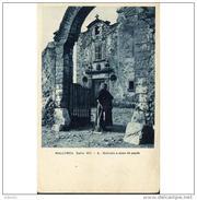 COSTP0624CPA-LFTM179TAGRAN .Tarjeta Postal De BALEARES.Entrada A Casa Del Pages MALLORCA. - Granja