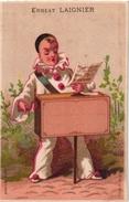 2Trade Cards Chromo  Music Instrument Orgue De BarbariePUB Brouwerij Van Hombeeck Berchem Reims Imp Bognard Litho - Chromos