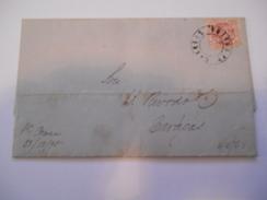 VENEZUELA - Env Intérieur Pour Caracas Avec N° 21 (avec En Contreseing La Surcharge Droite) - Dec 1898 - P21470 - Venezuela