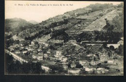NICE-La Vallée Du Magnau ( Magnan)  Et Le Chemin De Fer Du Sud - Beau Plan- CPA- Paypal Sans Frais - Nizza