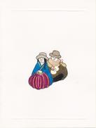 Lori Berenson, Couple, Double Postcard, MRTA, Peru - Fine Arts