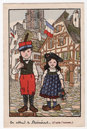 Hansi Illustrateur Lot 4 Cpa La Cigogne 1920 état Superbe - Hansi