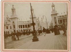 LPF4 - 4 PHOTOS ANCIENNES DE L'EXPOSITION UNIVERSELLE A PARIS DE 1889 - Documents Historiques