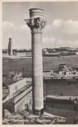 12037) BRINDISI COLONNA ROMANA E MONUMENTO AL MARINAIO VIAGGIATA 1940 - Brindisi