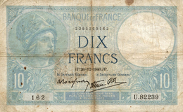 DIX FRANCS 1940 - 1871-1952 Antichi Franchi Circolanti Nel XX Secolo