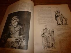 1901:  Expo Peinture 1787;Costumes Français Jadis;Route De Pékin Et Grande Muraille; Nan-K'éou ; Etc - Vieux Papiers