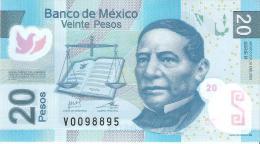 Mexico - Pick 122g - 20 Pesos 2012 - Unc - Messico