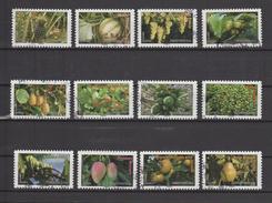 "FRANCE / 2012 / Y&T N° AA 686/AA 697 : ""Fruits"" (12 TP) - Choisis - Tous Cachet Rond - KlebeBriefmarken"