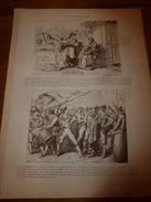1901: Patacca; NIDS Du(Tisserin Manyar, Rossignol, Cephalepsis Lalandi, Traquet Motteux ) ; Expo Peinture Au Louvre;etc - Vieux Papiers