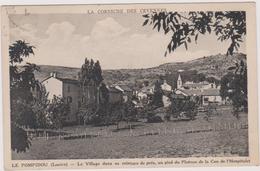 48 Le Pompidou  Le Village Dans Sa Ceinture De Pres  Au Pied Du Plateau  De La Can  De L'hospitalet - Autres Communes