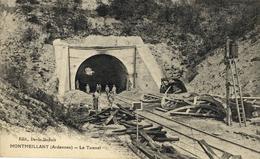 CPA (08) MONTMEILLANT Le Tunnel (B BUR) - France