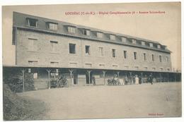 LOUDEAC - Hôpital Complémentaire 78 - Cachet Au Verso, 2 Scans - Loudéac