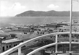 Cartolina Marina Di Carrara Spiaggia 1958 - Massa