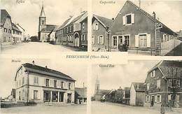 PIE-17-F-CH.1860 : FESSENHEIM. VUES MULTIPLES. A KANITZER A MULHOUSE. SOUVENIR DE. - Fessenheim