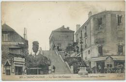 Saint-Cloud-La Gare Des Coteaux-Hillocks Railway Station-(CPA) - Saint Cloud