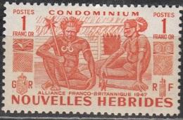 Nouvelles Hebrides 1953 Michel 160 Neuf ** Cote (2005) 30.00 Euro Indigènes - Neufs