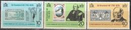 Nouvelles Hebrides 1979 Michel 534 - 536 Neuf ** Cote (2005) 2.50 Euro Rowland Hill Avec Ancien Timbres - Légende Française