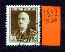 ALBANIA - SHQYPTARE - Year 1939 - Viaggiato - Traveled - Voyagè - Gereist. - Albania