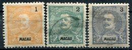 Macau                N°   79/80  Et  82   * Et (o) - Macao