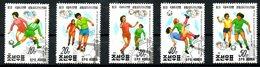 COREE DU NORD. N°2250-4 Oblitérés De 1991. Coupe Du Monde Des Femmes.
