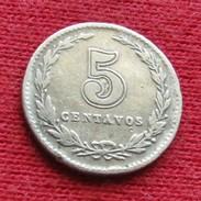 Argentina 5 Centavos 1928 KM# 34  Argentine - Argentine
