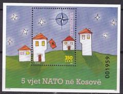 2004, Albanien, 3030 Block 156, Nato Im Kosowo. MNH ** - Albanie