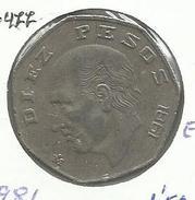 Mexico_1981_10 Pesos - México