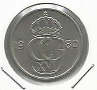 Suecia_1980_50 Ore - Suecia