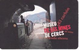 CALENDARIO DE ESPAÑA DE UN TREN DEL AÑO 2003 MINAS DE CERS (CALENDRIER-CALENDAR) TREN-TRAIN-ZUG - Tamaño Pequeño : 2001-...