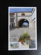 France 2014 - Pons  (17) - Chemins De Compostelle - Cartoline Maximum