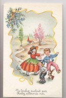 JEU DU COLIN MAILLARD - Enfants Jouant - LAPIN - Cartes Postales