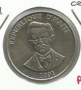 Haiti_1991_50 Cents. EBC - Haití
