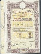 ANCIENNE ACTION CREDIT FONCIER DE FRANCE 1949 - Banque & Assurance