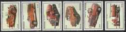 1984 Nicaragua Fire Engines Complete  Set Of 7 MNH - Nicaragua