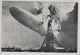 Cpm St002779 Luftschiff Lz 129 Hindenbourg Hindenburg , Carte Com Pour Publication Livre Voir Scan - Airships