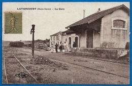 CPA 70 LAVONCOURT Haute-Saône - LA GARE - Sonstige Gemeinden