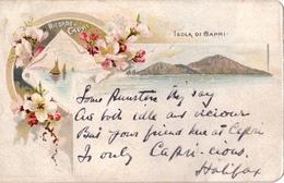 """Ricordo Di Capri_Isola Di Capri_ Nel 19033333333!!!! Vg Nel1903 X Roma_""""2 Scan- - Napoli"""