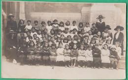Libye - Tripoli - Carte Photo - Une Classe, élèves, Enfants, Enseignement, école - Lieux
