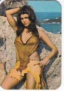 CALENDARIO DEL AÑO 1973 DE UNA CHICA SEXI (NUDE-DESNUDO) (CALENDRIER-CALENDAR) - Tamaño Pequeño : 1971-80