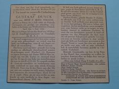 DP Gustaaf DUYCK ( Zoon Van FERAINE ) Pittem 5 Juli 1920 - Wolfenbüttel 1 Juni 1944 : POLITIEK Gevangene (zie Foto´s) ! - Religion & Esotericism