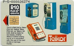 S. Africa - Telkor - T.A Edison - ChipSO3, 10.5R, 5.000ex, Mint (Check Photos)