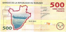 Burundi - Pick 50 - 500 Francs 2015 - Unc - Burundi