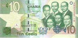 Ghana - Pick 39 - 10 Cedis 2013 - Unc - Ghana