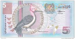 Suriname - Pick 146 - 5 Gulden 2000 - Unc - Suriname