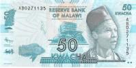 Malawi - Pick 58 - 50 Kwacha 2012 - Unc - Malawi