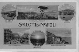 """Saluti Da Napoli_Multivedute-Antica Originale _""""2 Scan- - Napoli"""
