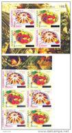 2006. Azerbaijan, 50y Of First Europa Issue , 2 S/s With Overprint, Mint/** - Azerbaïjan