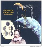 2009. Azerbaijan, Europa 2009, Astronomy, S/s, Mint/** - Azerbaïjan