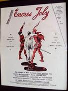 Buvard Grand Format ENCRES JOLY - Format 225 X 278mm